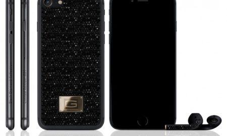 iPhone 7 Bertabur Berlian Hitam ini Dibandrol 6,4 Miliar
