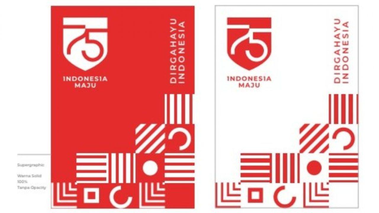 logo hut ke 75 kemerdekaan